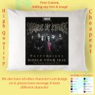 CRADLE OF FILTH THE SECOND COMING OF VICE TOUR Album Pillow cases