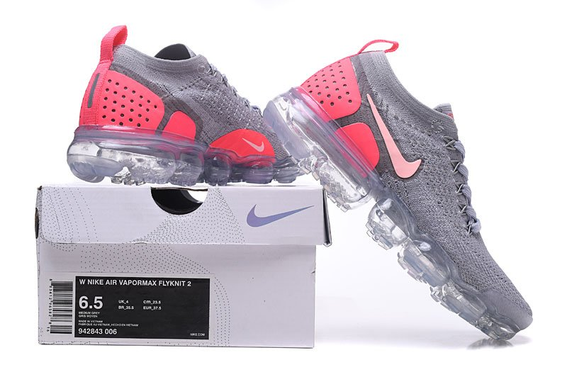 new concept 5a6f0 66822 Women,s Nike Air Vapor Flyknit Max 2019 2.0 Grey and Pink