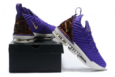 finest selection dfedf 71f60 Men's Shoes Nike LeBron 16 Purple