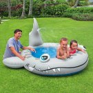 Shark Spray Pool 90 X 89 X 42 Size Summer Waterfall Outdoor For Ages 2+ Gray