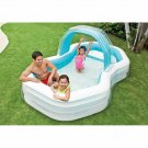 Intex Family Cabana Swim Center Pool, 122quot x 74quot x 51quot, for Ages
