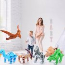 Fun Central BC545 Pack of 6 pcs 24 Inch Inflatable Dinosaurs, Dinosaurs Vinyl, D