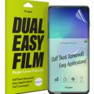 Ringke Dual Easy Film [2 Pack] Compatible with Galaxy S10 (6.1 Inch) High Resolu