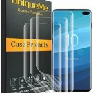UniqueMe [3 Pack] Compatible with Samsung Galaxy S10 Plus /S10 Screen Protector