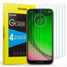[4 Pack] Screen Protector for Moto G7 Play, SPARIN Tempered Glass Screen Protect
