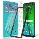 [3Pack] TAURI Screen Protector for Motorola Moto G7 / G7 Plus, Tempered Glass [