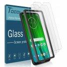 TOCOL [3 Pack] Screen Protector for Motorola Moto G7 / Moto G7 Plus, [Case Frien