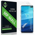 MPMALL [3Pack] Screen Protector for Samsung Galaxy S10 Plus, Wet Applied Liqui