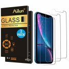 AILUN Screen Protector Compatible with iPhone XR (6.1inch 2018 Release),[3 Pack]