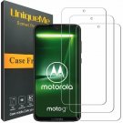 [3 Pack] INGLE Compatible with Motorola Moto G7 Screen Protector,9H Hardness Bub