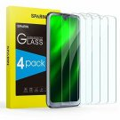 Moto G7 Screen Protector, [4 Pack] SPARIN 9H Hardness Tempered Glass Screen Prot