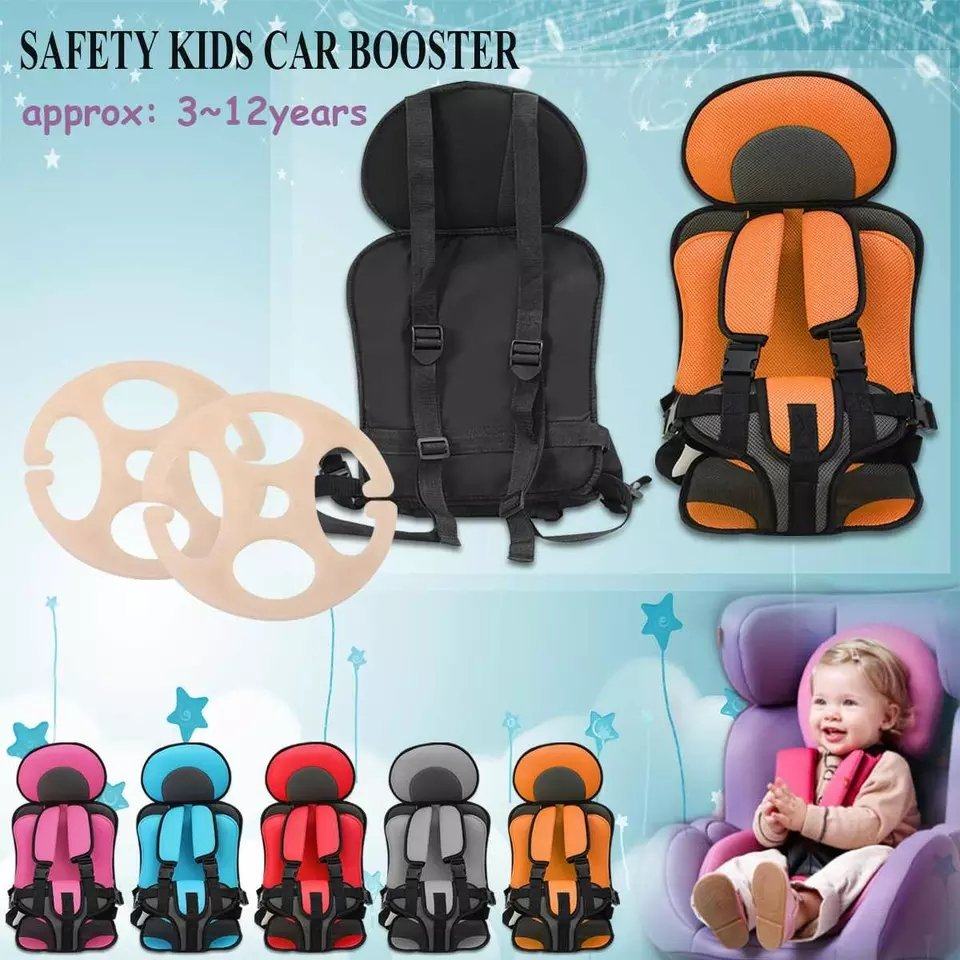 Portable Travel Kids Safety Seat / Baby Safety Seat /Children's Thickening Sponge