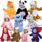 Baby Animal Onesie Romper Costumes - Unisex Cute Hooded Cartoon Outfits