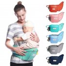 Baby Hipseat Carrier/ Waist Stool/ Sling Hold With Waist Belt Backpack For Storage