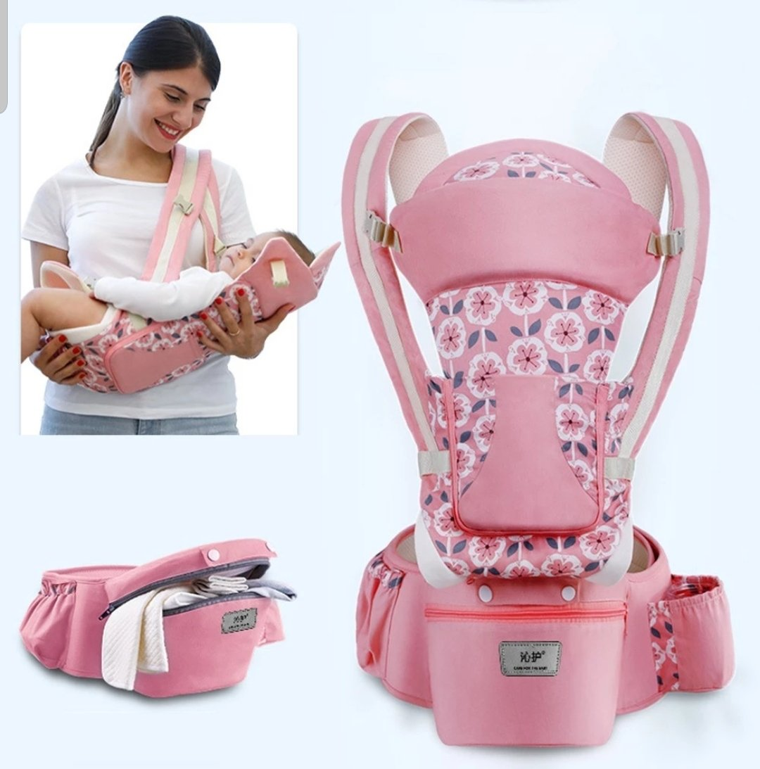 Baby Hip Seat Ergonomic Baby Carrier 5 in 1 with 9 Carry Positions