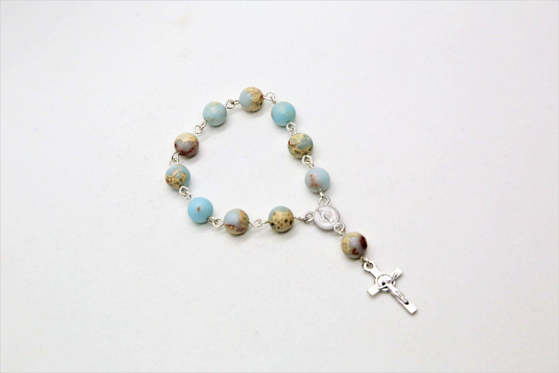 Imperial Jasper Mini Rosary