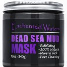 DEAD SEA Mud Mask - Pure-Anti Aging, Blackheads, Muscle/Joint Pain Relief - 12oz