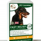Natural Pet Calming for Stress Anxiety & Hyperactivity in Dogs & Cats 120 Tablet