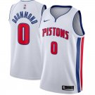 Men's #0 Andre Drummond Detroit Pistons Swingman Jersey White - Association Edition S-2XL