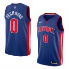 Men'S Detroit Pistons #0 Andre Drummond Blue Jersey Icon Edition S-2XL