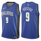 Men's #9 Nikola Vucevic Orlando Magic Swingman Jersey Blue - Icon Edition S-2XL