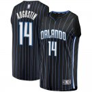 Men's #14 D.J. Augustin Orlando Magic Swingman Jersey Black - Statement Edition S-2XL