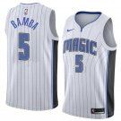 Men's #5 Mohamed Bamba Orlando Magic Swingman Jersey White - Association Edition S-XXL