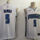Men's Orlando Magic #5 Mohamed Bamba White Basketball Jersey Stitched S-XXL