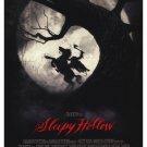 Sleepy Hollow Advance Original Movie 36x24 Poster Single Sided 27 X40