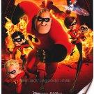 Incredibles Regular Original Movie 36x24 Poster Single Sided