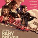 """Baby Driver Regular Single Sided 27""""x40' inches Original Movie 36x24 Poster"""