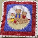Handmade Quilt - cushion covers - 3 bears