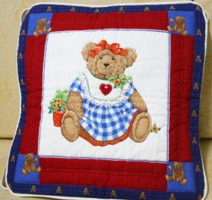 Handmade Quilt - cushion covers - Mama bear