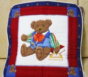 Handmade Quilt - cushion covers - Papa bears