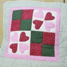 Handmade Quilt - cushion covers - Hearts