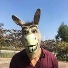 Mask Donkey Horse Halloween Party Costume Animal Full Head Animal Comical Shrek