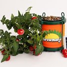 Growmanji Solar Powered Hydroponic System DWC, Complete Gardening Kit, Nutrients, Solar Powered Aera