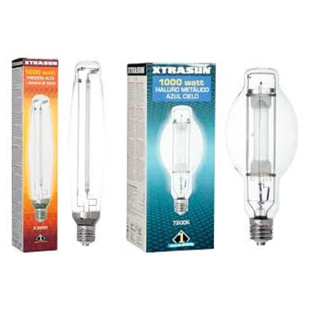 Xtrasun 1000w Lamp Combo (2,000k HPS + 7,200k MH)
