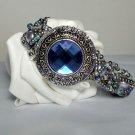 Jewelry Topaz Bracelet - Silvertone Bracelet- Pearl Bracelet Handmade Fashion
