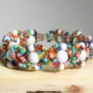 Children's Jewelry Kid's Rainbow  beads Bracelet