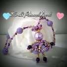 Children's Jewelry Kid's Purple Princess Necklace
