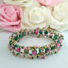 Gemstone Handmade Bracelet - agate bracelet - beaded bracelet