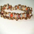 Gemstone Jewelry - agate  Crystal bracelet handmade Fashion