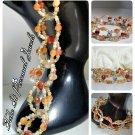 Gemstone Jewelry - Agate beads - handmade Bracelet