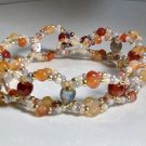 Gemstone Jewelry - Agate beads - Fashion handmade Bracelet