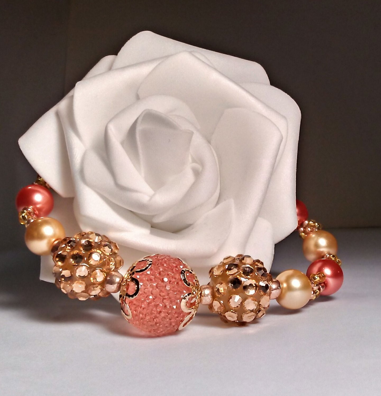 Beaded jewelry Bracelet - fashion beads handmade Jewelry