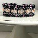 Jewelry - Pink Crystal Bracelet - Fashion Handmade jewelry