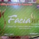 Facia Slim Weight Loss Tablets Green Tea,Green Coffee Beans,Garcinia 30 Tablets