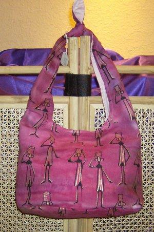 Pink Bag with Ladies