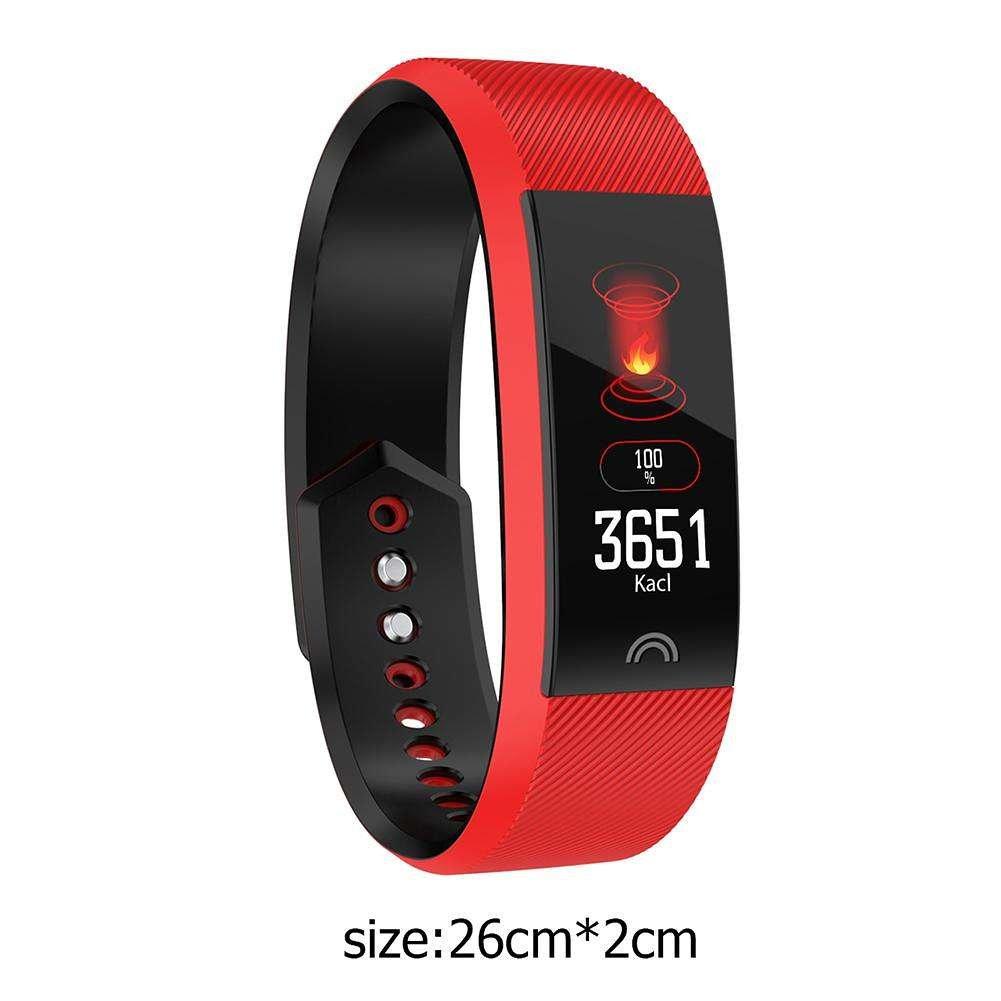 F6 Color Screen Blood Pressure Heart Rate IP68 Waterproof Bracelet